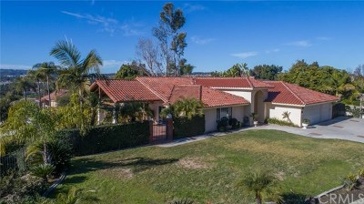 Laguna Hills Single Family Home For Sale: 24842 Red Lodge Place