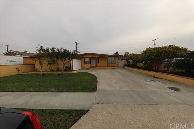 Orange Single Family Home For Sale: 1242 E Elm Street