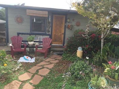Cayucos Single Family Home For Sale: 1998 Circle Drive