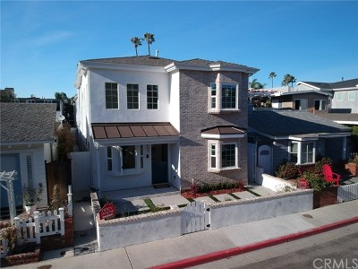 Newport Beach Single Family Home For Sale: 407 38th Street