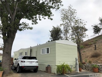 San Juan Capistrano Mobile Home Active Under Contract: 32802 Valle Road