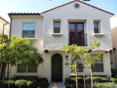 Irvine Condo/Townhouse For Sale: 62 Emerald Clover