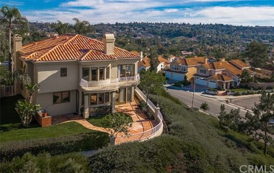 Laguna Niguel Single Family Home For Sale: 3 Santa Barbara Place