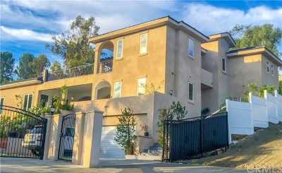 North Tustin Single Family Home Active Under Contract: 19362 Fisher Lane