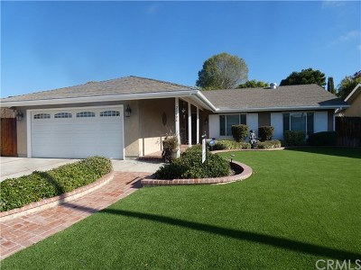 Mission Viejo Single Family Home For Sale: 23996 Olivera Drive