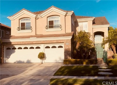 Orange County Rental For Rent: 1439 High Bluff Drive