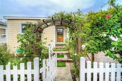Seal Beach Single Family Home For Sale: 319 14th Street