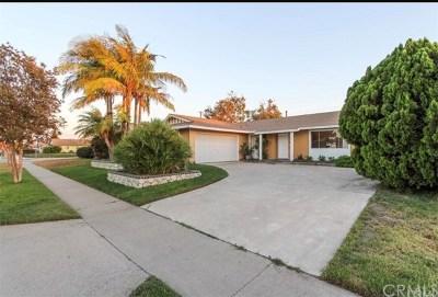 Garden Grove Single Family Home Active Under Contract: 9572 Woodbury Avenue