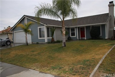 Perris Single Family Home For Sale: 21665 Windstone Way