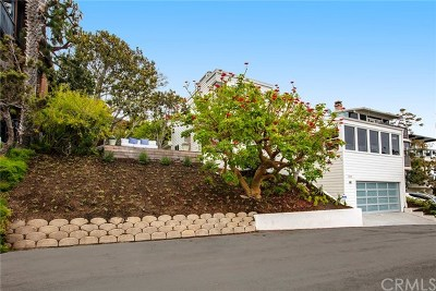 Laguna Beach Single Family Home For Sale: 1020 Baja Street