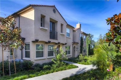 Irvine Condo/Townhouse For Sale: 197 Excursion