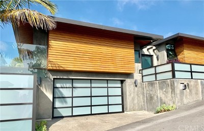 Laguna Beach Single Family Home For Sale: 990 Capistrano Avenue