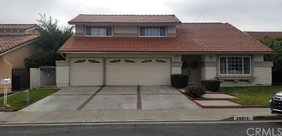 Mission Viejo Single Family Home For Sale: 26812 Calle Maria