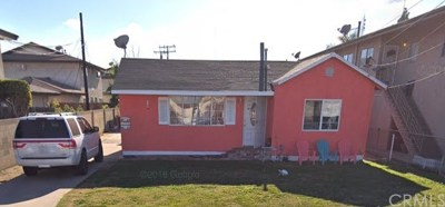 Downey Multi Family Home For Sale: 8022 Alameda Street