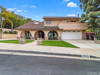 San Juan Capistrano Single Family Home For Sale: 27022 Via Banderas