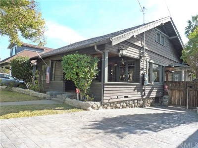 Pasadena Single Family Home For Sale: 524 Herbert Street