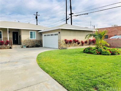 Garden Grove Single Family Home For Sale: 11952 Mac Murray Street