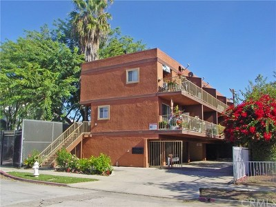 Santa Ana Multi Family Home For Sale: 309 S Garnsey Street