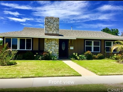 Fountain Valley Single Family Home For Sale: 17335 Santa Barbara Street