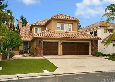 Rancho Santa Margarita Single Family Home For Sale: 18 Lawnridge