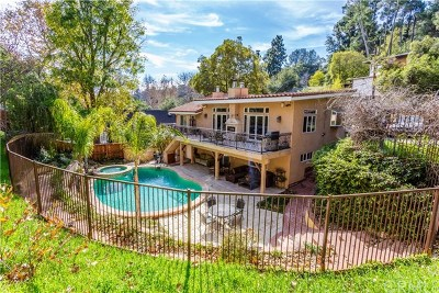 Los Angeles Single Family Home For Sale: 2264 Beverly Glen Pl