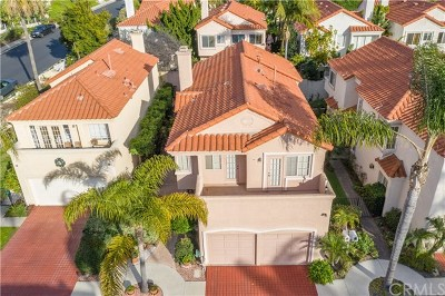 Dana Point Single Family Home Active Under Contract: 4 Saint John