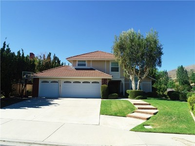 Yorba Linda Single Family Home For Sale: 20945 Castlerock Road