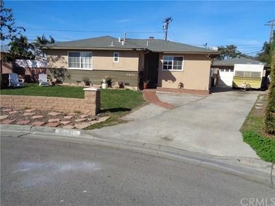 Garden Grove Single Family Home For Sale: 11631 Medina Drive
