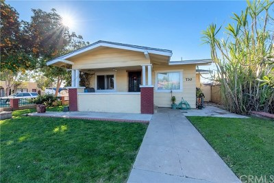 Santa Ana Single Family Home For Sale: 730 S Ross Street
