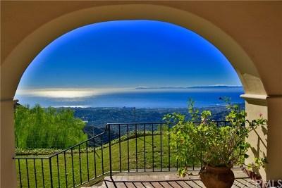 Santa Barbara Single Family Home For Sale: 2835 Gibraltar Road