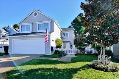 Mission Viejo Single Family Home For Sale: 21012 Sequoia Lane