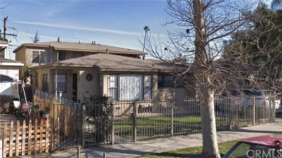 Compton Multi Family Home For Sale: 14626 S Atlantic Avenue