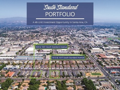 Santa Ana Multi Family Home For Sale: 939 S Standard Avenue