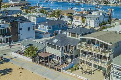 Newport Beach Single Family Home For Sale: 1002 E Oceanfront