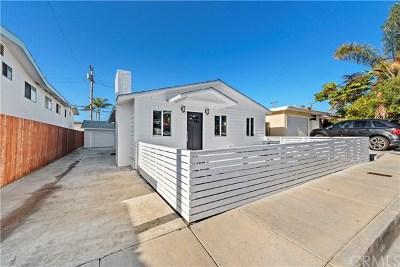 San Clemente Single Family Home For Sale: 218 Avenida Serra