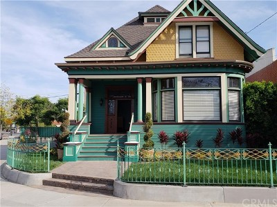 Santa Ana Single Family Home Active Under Contract: 621 N Spurgeon Street W