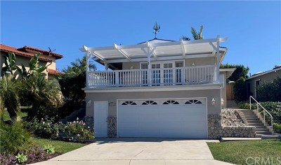 Dana Point  Single Family Home For Sale: 26932 Calle Dolores
