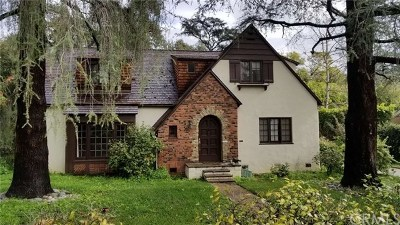 San Marino Single Family Home For Sale: 1640 S Euclid Ave