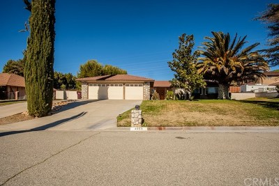 Banning CA Single Family Home For Sale: $449,900
