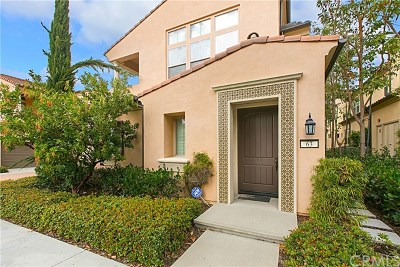 Irvine Condo/Townhouse For Sale: 63 Mission Bell