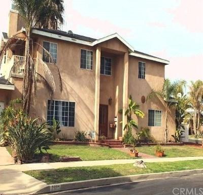 Long Beach Single Family Home For Sale: 2481 Terraine Avenue