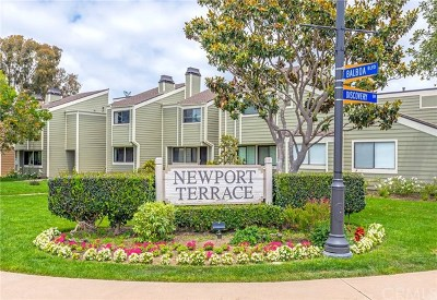 Newport Beach Rental For Rent: 2 Summerwalk Court #33