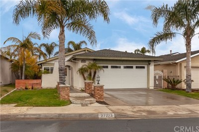 Mission Viejo Single Family Home For Sale: 27273 Las Nieves