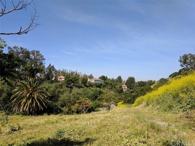 Anaheim Hills Residential Lots & Land For Sale: 366 S Country Hill Road