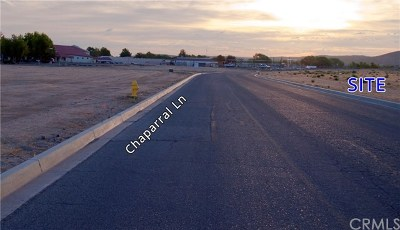 Helendale Residential Lots & Land For Sale: Chaparral Lane