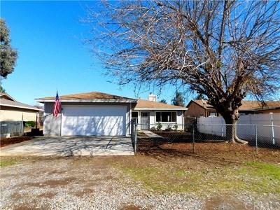 Wildomar Single Family Home For Sale: 21480 Illinois Street