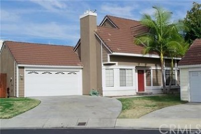 Mission Viejo Single Family Home Active Under Contract: 28045 Blandings