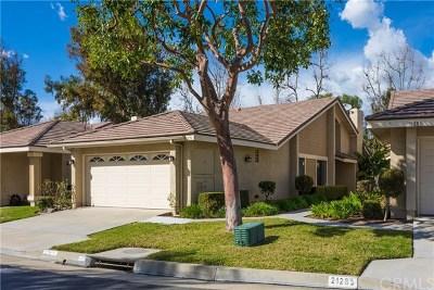 Yorba Linda Single Family Home For Sale: 21275 Via Del Vaquero