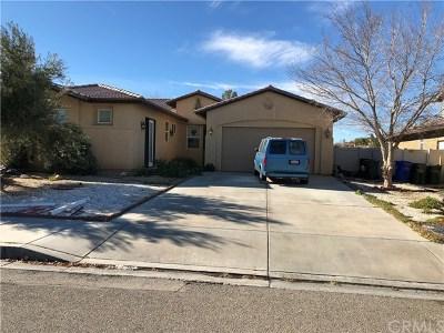 Adelanto Single Family Home For Sale: 15148 Christopher Street