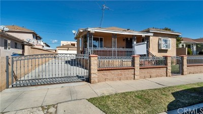 Los Angeles Single Family Home For Sale: 6109 Northside Drive